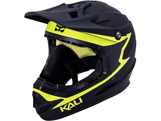 Kali Zoka Helmet Men matte black/neon yellow